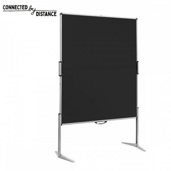 EuroPin® MC összecsukható PinWand tábla fekete filces