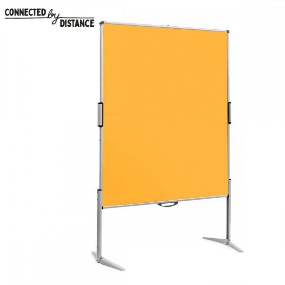 EuroPin® MC összecsukható PinWand tábla sárga szín