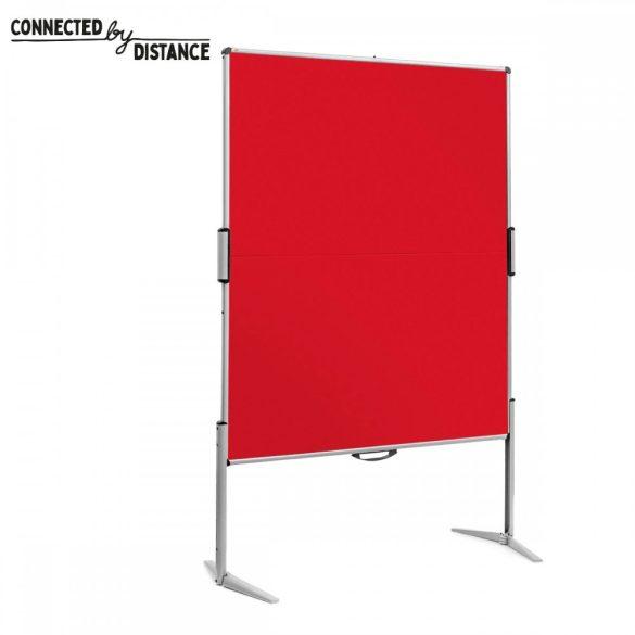 EuroPin® MC összecsukható PinWand tábla piros szín