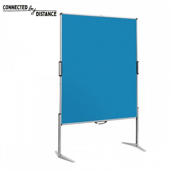 EuroPin® MC összecsukható PinWand tábla azúrkék szín
