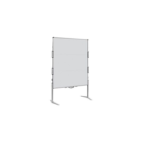 EuroPin® MC² összecsukható pinwand tábla világos szürke filces