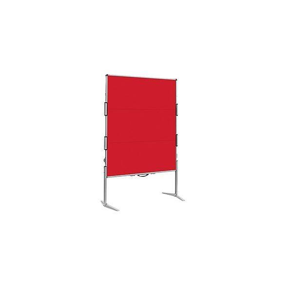 EuroPin® MC² összecsukható pinwand tábla paprika piros filces