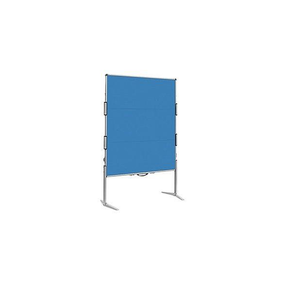 EuroPin® MC² összecsukható pinwand tábla azúrkék filces