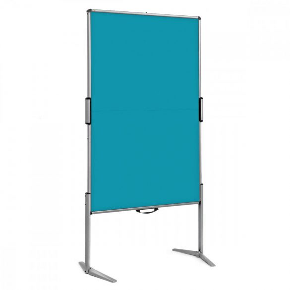 EuroPin® MC mini Pinwand tábla óceánkék filces
