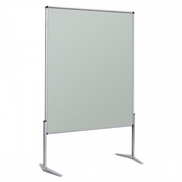 EuroPin® UT nem összehajtható Pinwand tábla világosszürke filces
