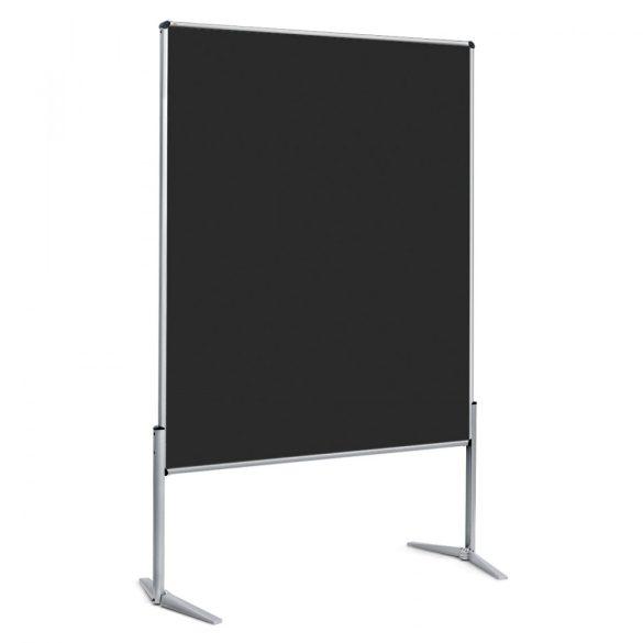EuroPin® UT nem összehajtható Pinwand tábla fekete filces