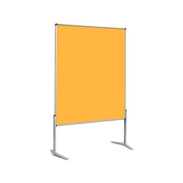 EuroPin® UT nem összehajtható Pinwand tábla sárga filces