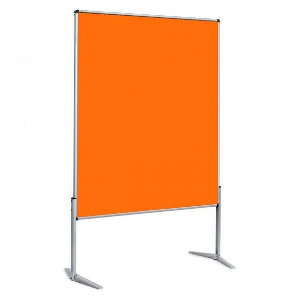 EuroPin® UT nem összehajtható Pinwand tábla mandarin filces
