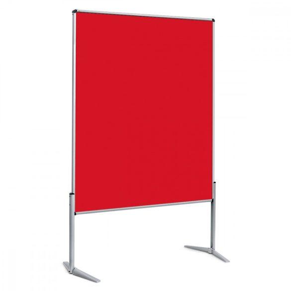EuroPin® UT nem összehajtható Pinwand tábla paprika piros filces