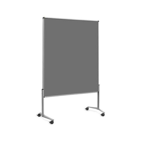 EuroPin® UT nem összehajtható Pinwand tábla antracit filces görgővel