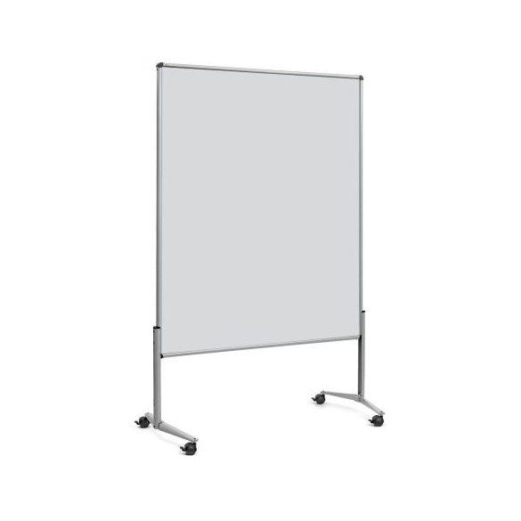 EuroPin® UT nem összehajtható Pinwand tábla világosszürke filces görgővel