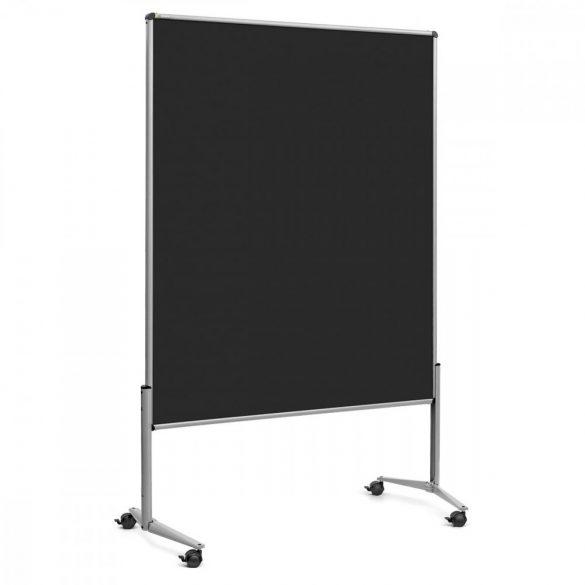 EuroPin® UT nem összehajtható Pinwand tábla fekete filces görgővel