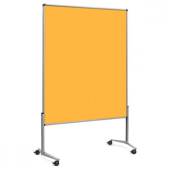 EuroPin® UT nem összehajtható Pinwand tábla sárga filces görgővel