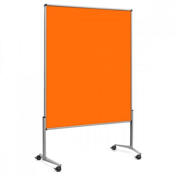 EuroPin® UT nem összehajtható Pinwand tábla mandarin filces görgővel