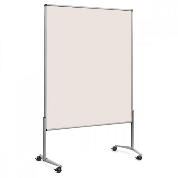 EuroPin® UT nem összehajtható Pinwand tábla natúrfehér filces görgővel
