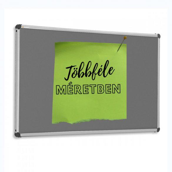 EuroPin® W fali pinwand tábla 60 x 90 cm antracit filc