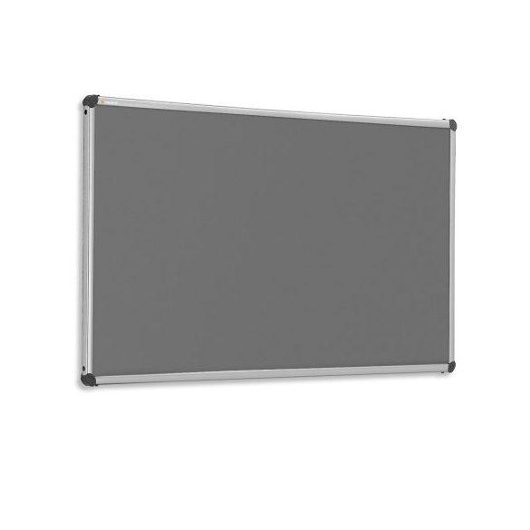 EuroPin® W fali pinwand tábla 122,5 x 150 cm antracit filc