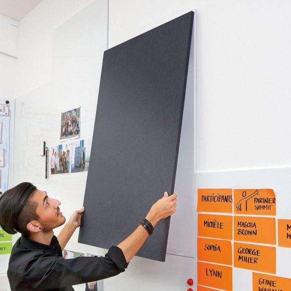ProcessWall Pinboard 75 x 37,5 cm antracit filc