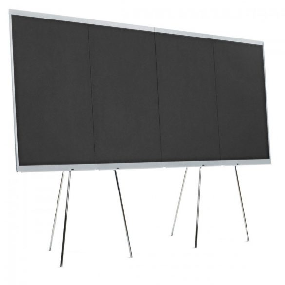 LW-X Graphic Wall,  4 elemes grafikai tábla fekete karton