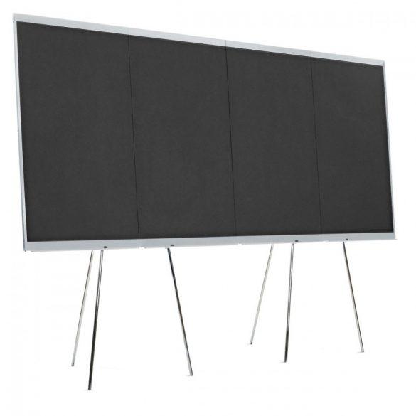 LW-X GraphicWall, 4 Board Elements/Set - black foam board