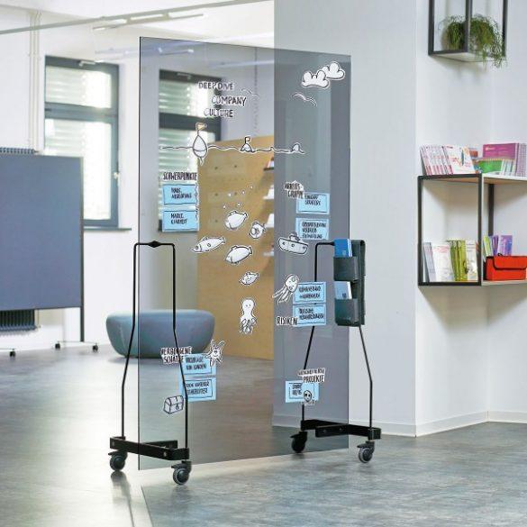Neuland Werkwand® Üvegtábla - átlátszó szürke