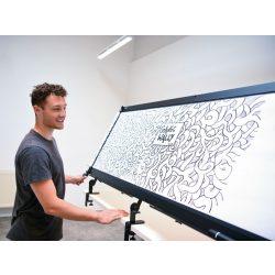 GraphicWally® hordozható grafikai tábla bővítő modullal együtt
