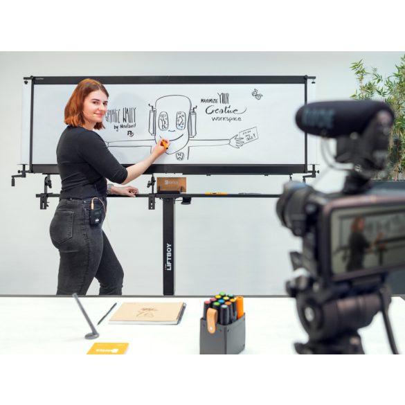 Támasztósín GraphicWally® bővítéséhez LiftBoy állvánnyal kompatiblis