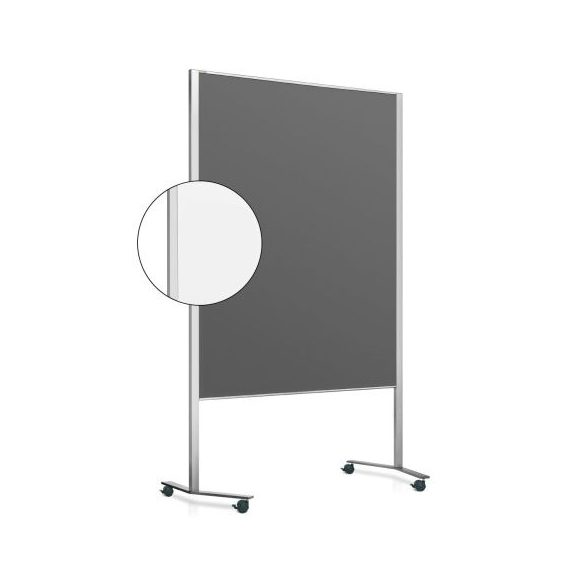 LW-11 Duo PinWand tábla antracit filces görgővel