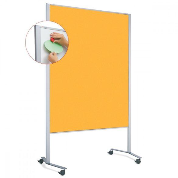 LW-11 Duo PinWand tábla sárga filces görgővel