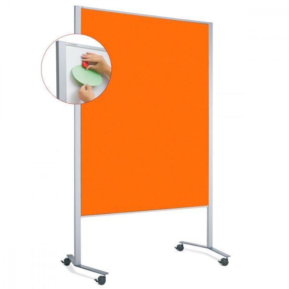 LW-11 Duo PinWand tábla mandarin filces görgővel
