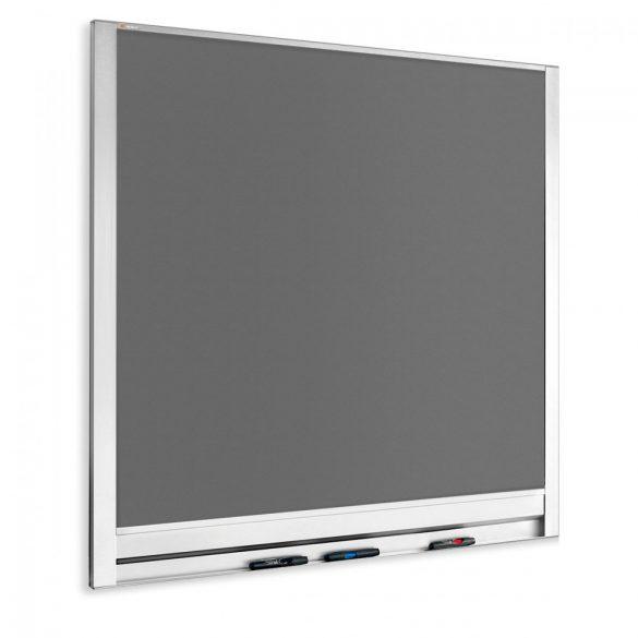 LW-P fali pinwand 102,5 x 108 cm antracit filc