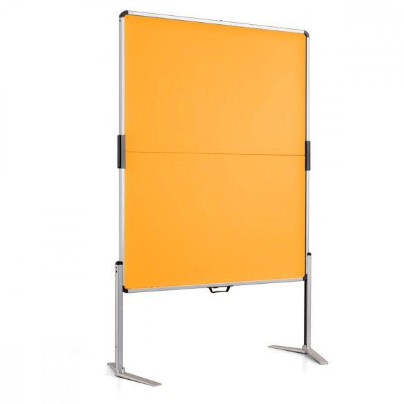 ClassicPin MC összecsukható pinwand tábla sárga filc