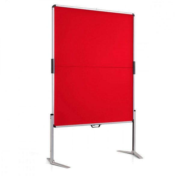 ClassicPin MC összecsukható pinwand tábla piros filc