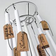 Charterobe®- flipchart és pinwand papírtartó állvány