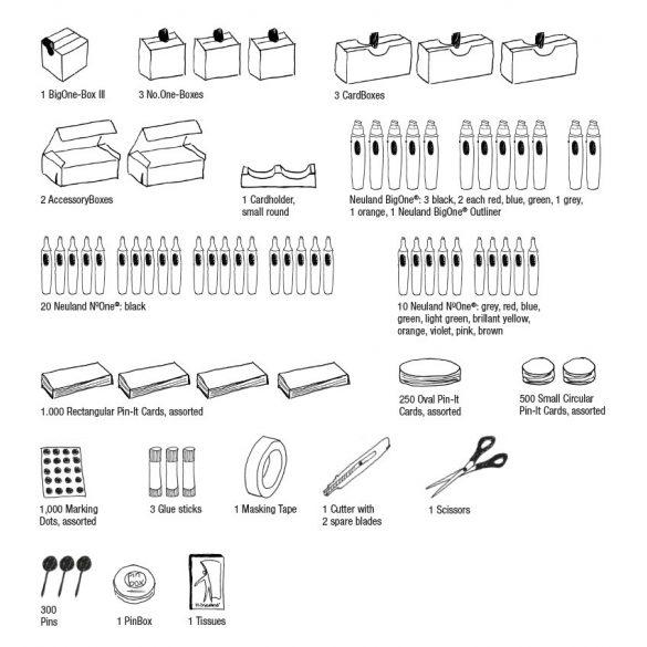 Novario® BasicBox, Pin-It Training Max trénerdoboz