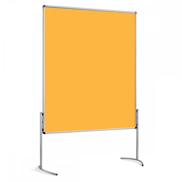 NovoPin 2 UT-B Pinboard nem összecsukható pinwand tábla sárga filc