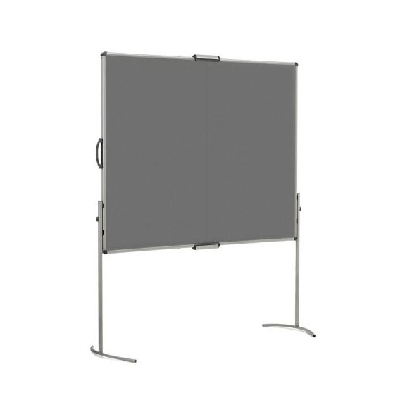 UniPin® 2 MC-B összecsukható pinwand tábla antracit filces