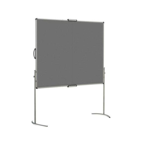 UniPin® 2 MC-B Pinboard foldabel anthracite felt