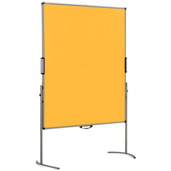 UniPin® 2 MC-B összecsukható pinwand tábla sárga filces