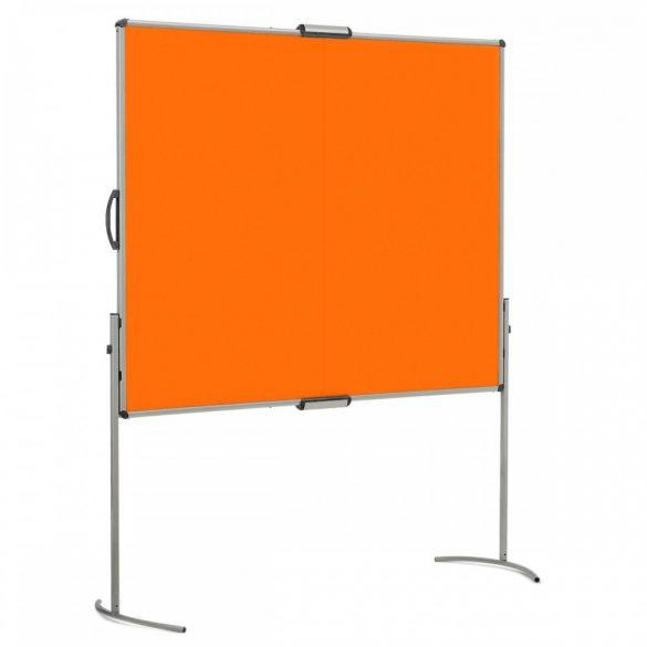 UniPin® 2 MC-B összecsukható pinwand tábla mandarin filces
