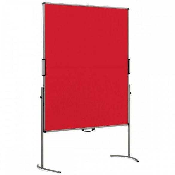 UniPin® 2 MC-B összecsukható pinwand tábla paprika piros filces