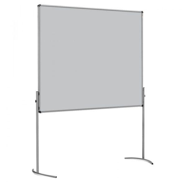 UniPin® 2 UT-B Pinboard, nem összecsukható pinwand tábla világos szürke filc
