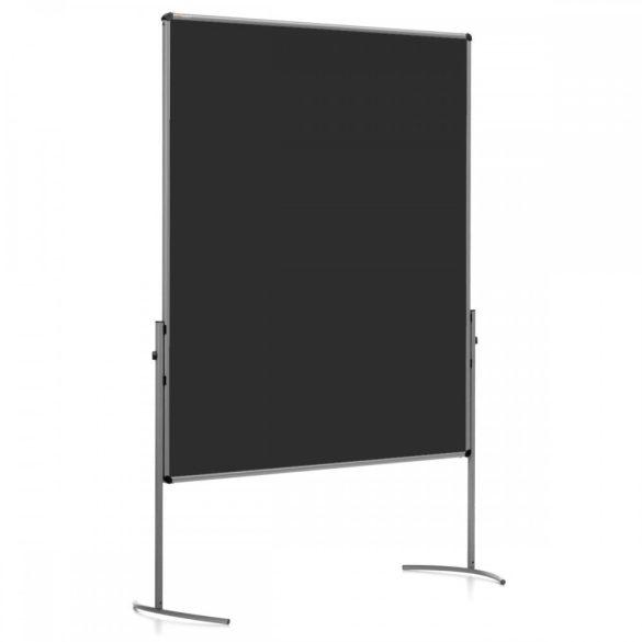 UniPin® 2 UT-B Pinboard, nem összecsukható pinwand tábla fekete filc
