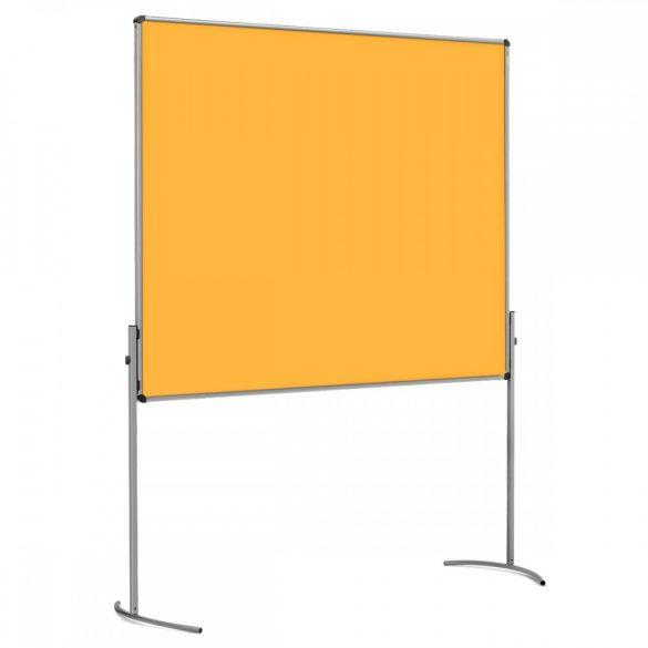 UniPin® 2 UT-B Pinboard, nem összecsukható pinwand tábla sárga filc