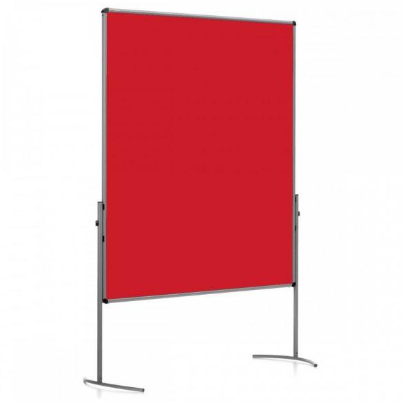 UniPin® 2 UT-B Pinboard, nem összecsukható pinwand tábla paprika piros filc