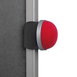 Táblára pattintható gombostűtartó piros
