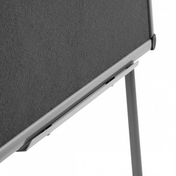 FlipChart EuroFlip® Flipchart tábla antracit filc borítás