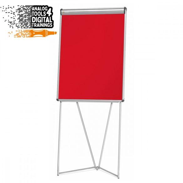 FlipChart EuroFlip® Flipchart tábla - piros 9225