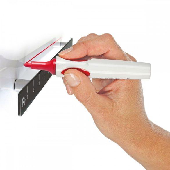 FlipChart ToMove ERGO fekete flipchart tábla, állítható magasság