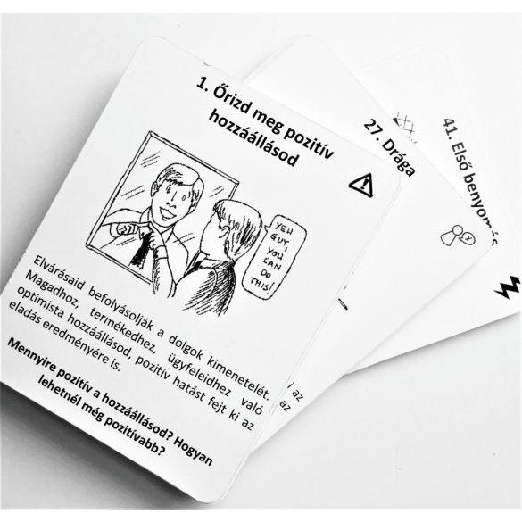 Sikeres értékesítés kártyák - megújult